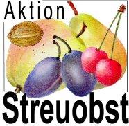 Logo Aktion Streuobst: Zeichnung von Obstsorten