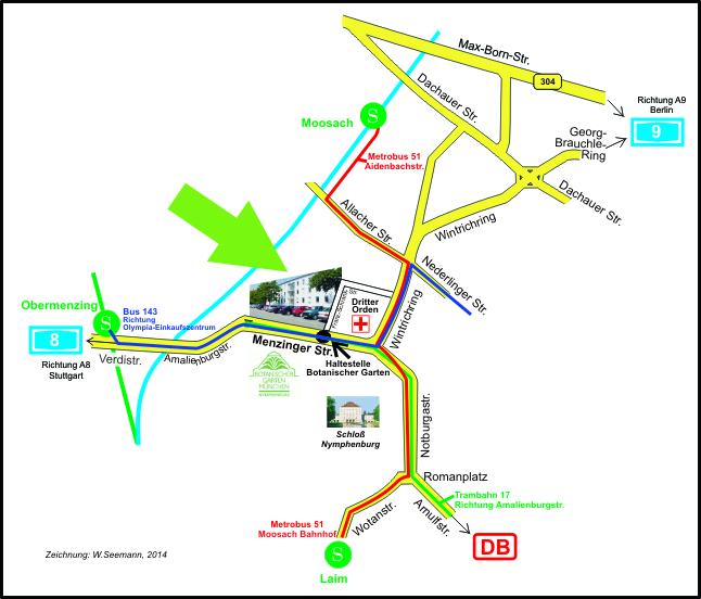 Lfl Anfahrt München Menzinger Str 54 Erläuterung Und Lageplan Lfl