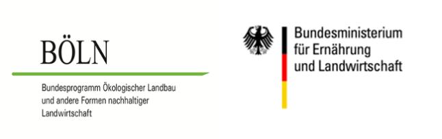 Logos BÖLN und BMEL